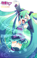 Miku Hatsune: We are POP CANDY by EvilQueenie