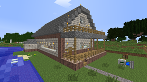 Cottage of contraptions - Minecraft by Tryzon