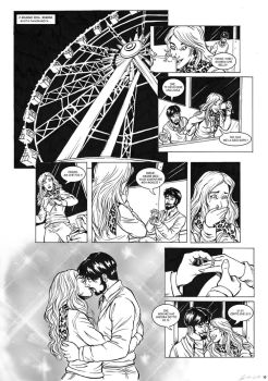 Comic Book Page Commission - The proposal by giulal