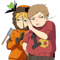 KennyXCartman by LSBJ