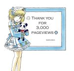 Thanks 3,000 by Maria-Mika