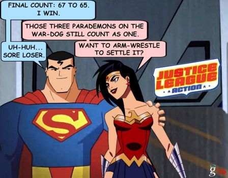 SMWW: Justice League Action by godstaff