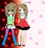 if i had a twin sister by Lkills13