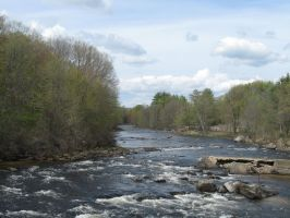 spring time on the Contoocook by crazygardener