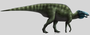 Edmontosaurus regalis by Julio-Lacerda