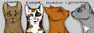 Frosty-Finchie-Flame Banner 01 by SirSullivan