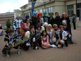 Kingdom Hearts group Shot 1 by Wolfblood11