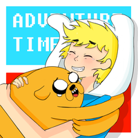Finn and Jake by UnluckyS
