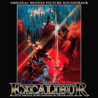 Excalibur CD Soundtrack Jacket by TerrysEatsnDawgs