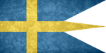 Kingdom of Sweden ~ Grunge War Flag (1663/1906 - ) by Undevicesimus