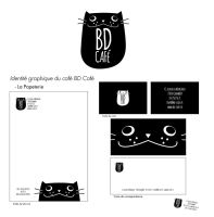 Charte graphique BD Cafe by KitKid