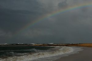 Towoon Bay rainbow 1 by wildplaces