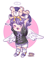~Mabinogi Sketch chibi commission~ by Desuthis
