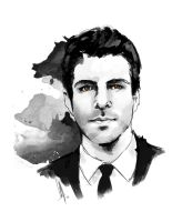 Zachary Quinto [Commission] by charlotvanh