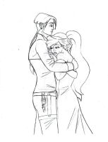 13 2011 Tini - Pencil: Jim and Ariel's Tears by JusTiniStilborn