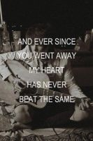 never been the same by GodsGirl33