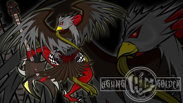 Digital painting - Guardian Eagle cover by agungRaka