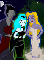 The sons of Hades by wendymeg