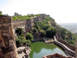 Chittorgarh Fort by Sidthebohemian