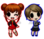 Naoko+Annette:Chibichu by yourmomsaname