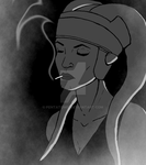 twi'lek smoking (Unfinished) by Pentatomid