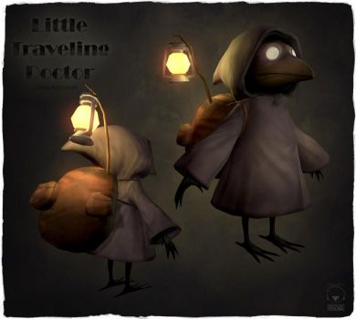 Little Traveling Doctor 3D by CplSquee