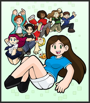Teh Stream Cover Page by DoubleLeggy