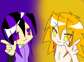 lucky star cheetah and thunder by DrSpencerReidBietch