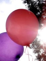 Baloons in the sun by Encante