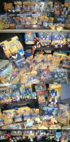 Many Sonic Figures and Spares by SEGAMew-Market