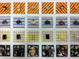 Harry Potter Legos by beaniegeekgirl
