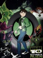 Ben 10 Ultimate Alien Poster by derianl