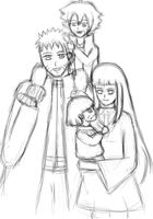 Uzumaki Family by AnimeCouples1992