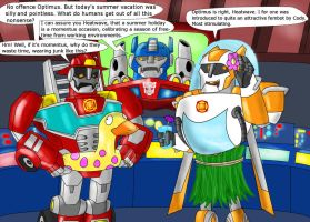 Rescue Bots' summer vacation - Contest entry by KrytenMarkGen-0