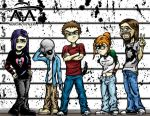 The Usual Suspects... by RiffThirteen