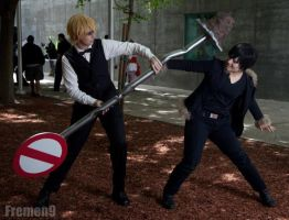 DuRaRaRa!! - Another fight by takisiski