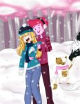 Fun In The Snow by Freyamustdie