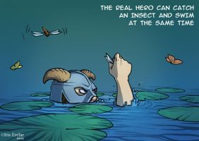 The real Hero III by IrisErelar