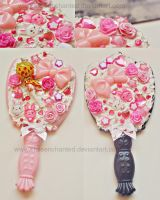 Cute mirrors by EliseEnchanted