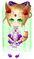 PCommision Chibi [1/2] for ChizuruMiyagi by Kawaiiipoop