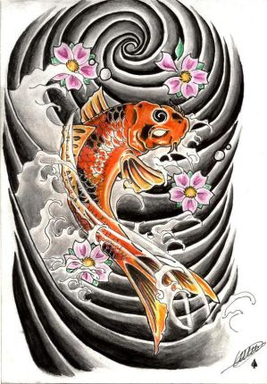 Dragon Koi Tattoo Designs. There is also the koi dragon which according to