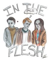 In the Flash- the Gang by hatoola13