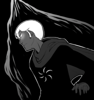 Grimdark Mycroft by limecakey