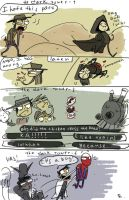 The Dark Tower doodles, 2 by Ayej