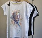 Seed of Life - Twinne T-shirt by Carne Griffiths by Carnegriff