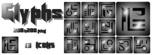 Glyph Icons by The-Wick