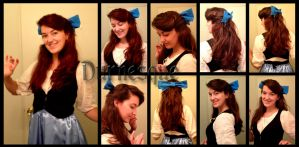 How to: Kiss the Girl Hair by Durnesque