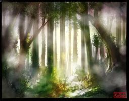 Mist and Light by kovah