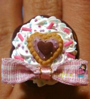 Chocolate cake Ring by colourful-blossom
