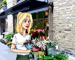 Flower shop by Cezizzle